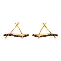 Joyas OnLine Plata de Ley 925 y Oro 18K. pendientes trepadores ear jacket ear cuffs