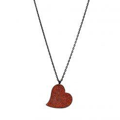 Collar corazón plata Joyas para San Valentín gargantilla