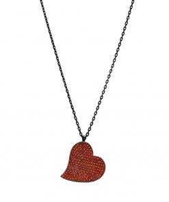 Joyas para San Valentín Joyas OnLine Plata de Ley 925 y Oro 18K. gargantilla collar corazon
