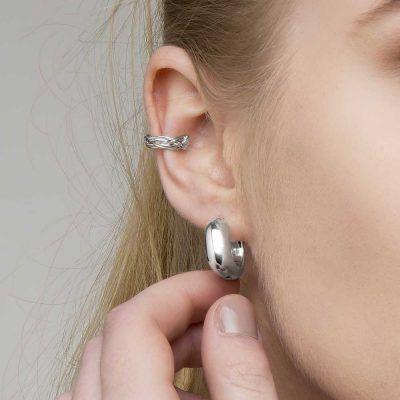 Joyas OnLine Plata de Ley 925 y Oro 18K. pendientes ear climber ear jacket ear cuff aros