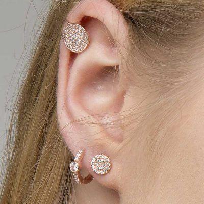 Joyas OnLine Plata de Ley 925 y Oro 18K. pendientes ear climber ear jacket ear cuff aro