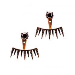 Joyas OnLine Plata de Ley 925 y Oro 18K. pendientes flotantes ear climbers ear jackets ear cuffs