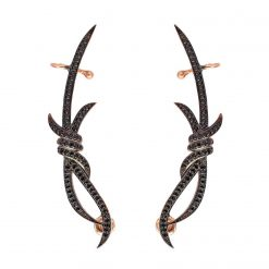 Joyas OnLine Plata de Ley 925 y Oro 18K. pendientes trepadores ear jackets ear cuffs ear climbers
