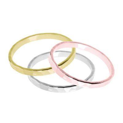 Joyas OnLine Plata de Ley 925 y Oro 18K. anillos