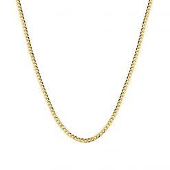 cadena eslabones Cubana barbada cubana plata y oro joyas para mujer cadena cartier collares gargantillas chokers y colgantes de moda SUTILLE